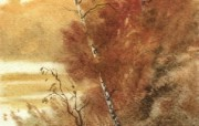 水彩风景壁纸 壁纸27 水彩风景壁纸 绘画壁纸