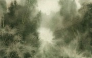 水彩风景壁纸 壁纸29 水彩风景壁纸 绘画壁纸