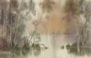 水彩景色 2 18 水彩景色 绘画壁纸