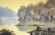 水彩景色 2 16 水彩景色 绘画壁纸