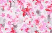 水墨花卉 壁纸5 水墨花卉 绘画壁纸