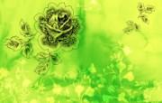 水墨花卉 壁纸7 水墨花卉 绘画壁纸