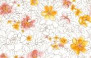 水墨花卉 壁纸14 水墨花卉 绘画壁纸