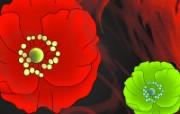 水墨花卉 壁纸25 水墨花卉 绘画壁纸