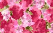 水墨花卉 壁纸27 水墨花卉 绘画壁纸