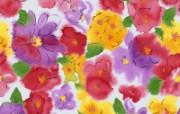 水墨花卉 壁纸32 水墨花卉 绘画壁纸