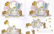 Beauty Parlour 可爱小老鼠插画原画 鼠鼠一家温馨小老鼠插画壁纸 绘画壁纸