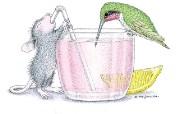 可爱小老鼠插画壁纸 鼠鼠一家温馨小老鼠插画壁纸 绘画壁纸