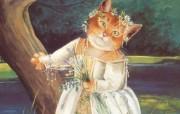 Susan Herbert 猫咪插画壁纸贵族猫王国 绘画壁纸