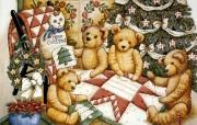 泰迪熊珍藏绘本 第一辑 泰迪熊珍藏绘本 泰迪熊绘画壁纸 泰迪熊珍藏绘本第一辑 绘画壁纸