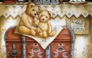 泰迪熊珍藏绘本 第一辑 泰迪熊童话手绘 泰迪熊插画壁纸 泰迪熊珍藏绘本第一辑 绘画壁纸