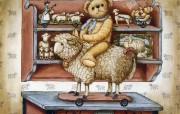 泰迪熊珍藏绘本 第一辑 泰迪熊珍藏 泰迪熊绘画壁纸 泰迪熊珍藏绘本第一辑 绘画壁纸
