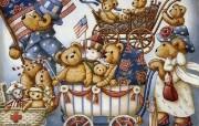 泰迪熊珍藏绘本 第一辑 泰迪熊童话手绘 泰迪熊绘画壁纸 泰迪熊珍藏绘本第一辑 绘画壁纸