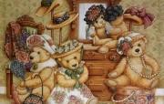 泰迪熊珍藏绘本 第一辑 泰迪熊童话手绘 泰迪熊壁纸 泰迪熊珍藏绘本第一辑 绘画壁纸