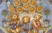 泰迪熊珍藏绘本 第一辑 泰迪熊珍藏 泰迪熊手绘壁纸 泰迪熊珍藏绘本第一辑 绘画壁纸