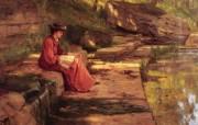 Theodore Clement Steele油画壁纸 绘画壁纸
