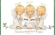 天使的祝福Ruth Morehead 作品 绘画壁纸
