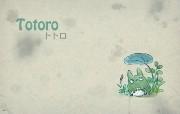Totoro 龙猫 手绘简约版 壁纸4 Totoro(龙猫) 绘画壁纸