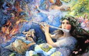 Wall Josephine作品《Celestial Journeys 天上的旅程》 绘画壁纸