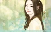 唯美手绘美女插画壁纸 第二十辑 共735张 言情小说手绘美女插画 亲爱的主人 唯美手绘美女插画壁纸第二十辑 绘画壁纸