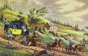 西方风景油画壁纸 绘画壁纸