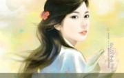 言情小说手绘美女壁纸 第十六辑 唯美手绘 言情小说美女手绘 言情小说手绘美女壁纸十六 绘画壁纸