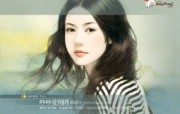 言情小说手绘美女第十一辑 绘画壁纸