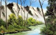 油画风景壁纸三 绘画壁纸