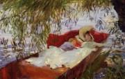约翰・辛格・萨金特John Singer Sargent绘画作品一 绘画壁纸