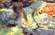 约翰・辛格・萨金特John Singer Sargent油画二 绘画壁纸