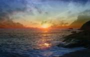 早晨的阳光神奇油画壁纸 壁纸2 早晨的阳光神奇油画壁 绘画壁纸