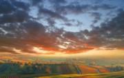 早晨的阳光神奇油画壁纸 壁纸6 早晨的阳光神奇油画壁 绘画壁纸
