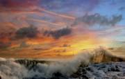 早晨的阳光神奇油画壁纸 壁纸13 早晨的阳光神奇油画壁 绘画壁纸