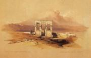 重现壮美的古文明 David Roberts 古埃及绘画壁纸集续 伊西丝神庙 Temple Of Isis 重现壮美的古文明David Roberts 古埃及绘画壁纸集续 绘画壁纸