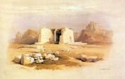 重现壮美的古文明 David Roberts 古埃及绘画壁纸集续 TafaIn Nubia 神庙 Temple Of TafaIn Nubia 重现壮美的古文明David Roberts 古埃及绘画壁纸集续 绘画壁纸