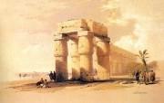 重现壮美的古文明 David Roberts 古埃及绘画壁纸集续 卢克索神庙 太阳神殿 The Great Temple Of Luxor 重现壮美的古文明David Roberts 古埃及绘画壁纸集续 绘画壁纸