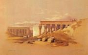 重现壮美的古文明 David Roberts 古埃及绘画壁纸集续 Tifon神庙 Temple Of Tifon 重现壮美的古文明David Roberts 古埃及绘画壁纸集续 绘画壁纸