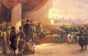 追寻古老神秘的文明 David Roberts 古埃及绘画壁纸集 和古罗马执政官会晤 Consul Pasha 追寻古老神秘的文明David Roberts 古埃及绘画壁纸集 绘画壁纸