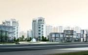 城市建筑效果 2 18 城市建筑效果 建筑壁纸