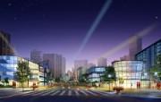 城市建筑效果 2 15 城市建筑效果 建筑壁纸