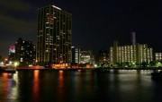 城市夜景 4 3 城市夜景 建筑壁纸