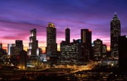 城市夜景 8 1 城市夜景 建筑壁纸