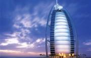 迪拜酒店 1 9 迪拜酒店 建筑壁纸