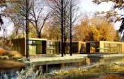 建筑园林效果 12 10 建筑园林效果 建筑壁纸