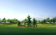 建筑园林效果 12 1 建筑园林效果 建筑壁纸