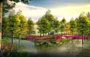 建筑园林效果 3 18 建筑园林效果 建筑壁纸