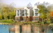 建筑园林效果 11 17 建筑园林效果 建筑壁纸