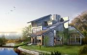 建筑园林效果 11 16 建筑园林效果 建筑壁纸
