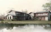 建筑园林效果 11 3 建筑园林效果 建筑壁纸