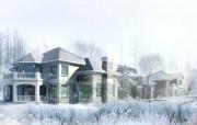 建筑园林效果 11 2 建筑园林效果 建筑壁纸
